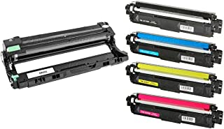 Combo Fotocondutor DR221 + Kit Colorido de Toner TN221/225 Compatíveis para Brother HL-3140 HL-3150