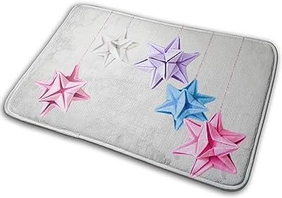 Non-Slip Doormats Star Mobile Entrance Rug Indoor/Outdoor Carpet Absorbs Moisture Washable Dirt Trapper Mats