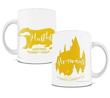 Harry Potter Mug – Hogwarts House Hufflepuff – 11 oz Ceramic Geek Funny Mug – Great For Gifting or Collecting