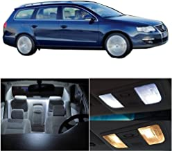 SCITOO LED Interior Lights 16 pcs White Package Kit Accessories Replacement Fits for VW VOLKSWAGEN PASSAT 2013-2017