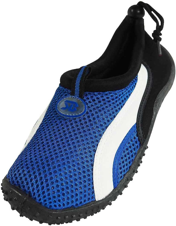 Starbay - Womens Athletic Water shoes Aqua Sock, bluee, White 37914-11B(M) US