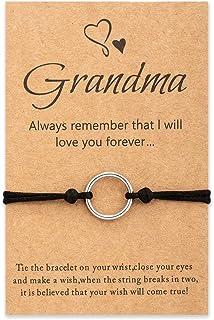 أساور Tarsus Best Nana Grandma Wish هدية مجوهرات عيد ميلاد للنساء