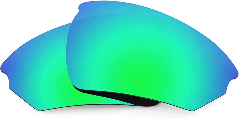 Revant Verres de Rechange pour Rudy Project Noyz - Compatibles avec les Lunettes de Soleil Rudy Project Noyz Vert Émeraude Mirrorshield - Polarisés