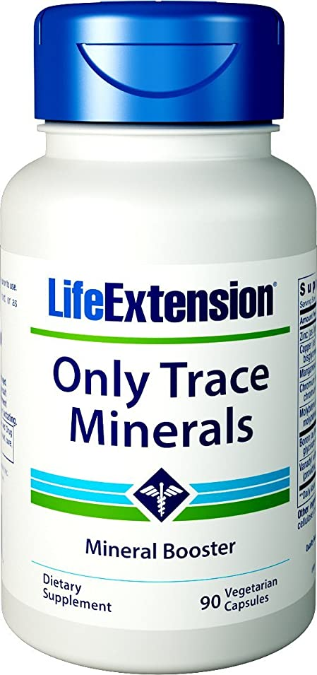 立証するずらすセットする海外直送肘 Only Trace Minerals, 90 vcaps