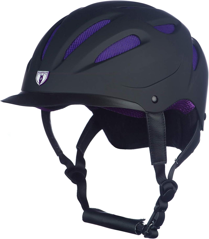 Under blast sales Tipperary Sportage Superior Hybrid Helmet Purple L Black