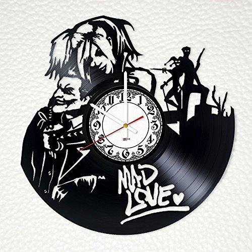 61L2ZIAJqsL Harley Quinn Clocks