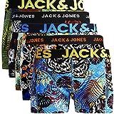 JACK & JONES Trunks 4er Pack Boxershorts Boxer Short Unterhose S M L XL XXL NEU (XXL, 12) (L, 5er Pack Bunt 12 ohne Wäschesack)