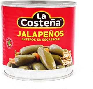 La Costeña Chile Jalapeño Entero, 380 gr