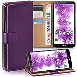 MoEx Premium Book-Case Handytasche kompatibel mit LG G2 |