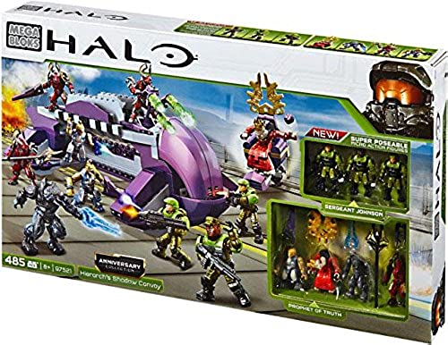 Mega Bloks - Halo Anniversary Collection Hierarch's Shadow Convoy [97521]
