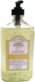 Nature's Provender Lemon Thyme Liquid Hand Soap 17 Oz
