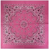 Alex Flittner Designs Bandana mit exclusivem Paisley Muster in rosa