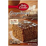 Betty Crocker Gingerbread Cake & Cookie Mix, 14.5-Ounce Boxes (Pack of 3)
