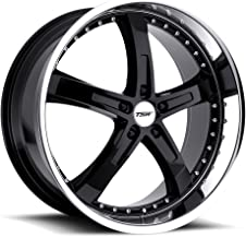 TSW JARAMA Black Wheel with Painted Finish (18 x 8. inches /5 x 114 mm, 40 mm Offset)