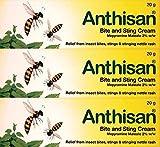 Anthisan Bite & Sting Cream 20g x 3 Packs