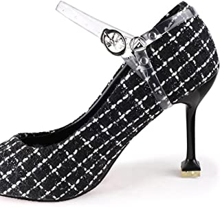 SOWUNO High Heels Strap Adjustable 1 Pair Loose-Proof Detachable Decorative Portable Shoes Ankle Strap Removable Portable ...