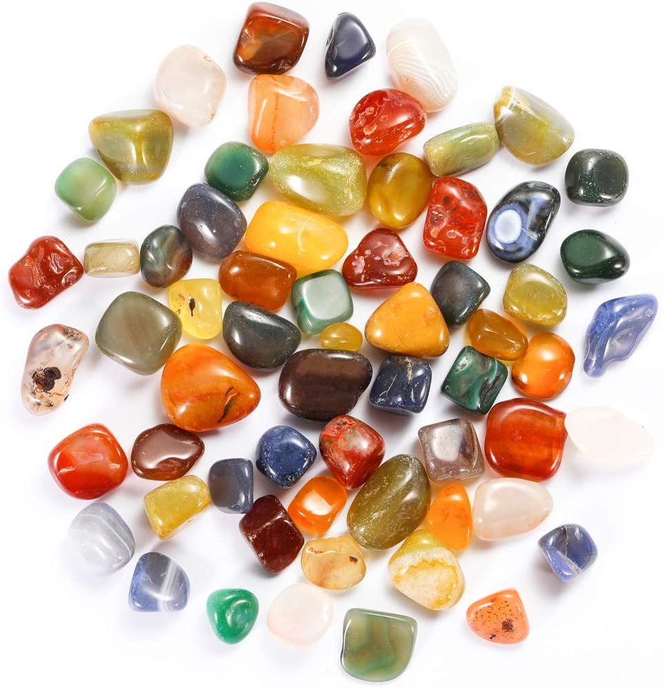 Bofanio Max 45% OFF 1.1lb Agate Gravel Chips Crushed Shaped Irregular Popular popular Stone