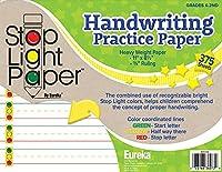 Eureka 新学期 ストップライト 手書き練習用紙 学生用