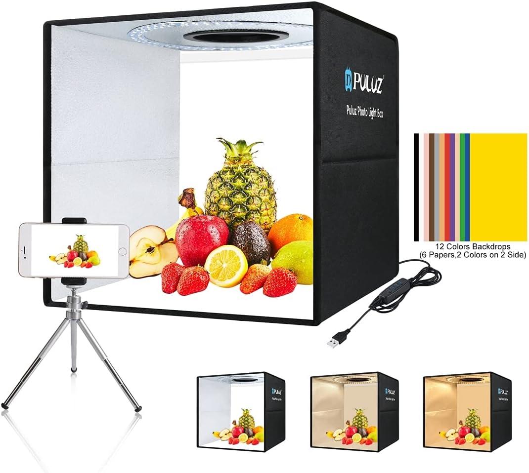 Photo Studio Washington Mall Light Box 15.8 ! Super beauty product restock quality top! Shooting Porta Tent kit Inch