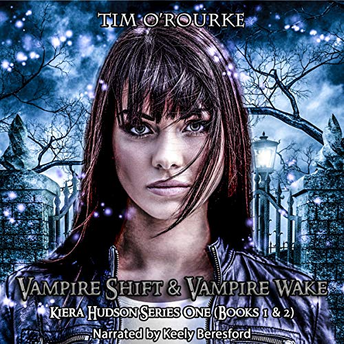 Vampire Shift & Vampire Wake audiobook cover art