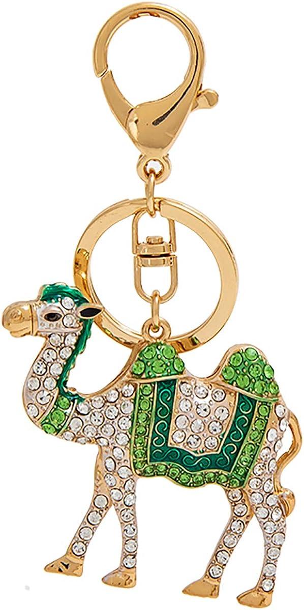 Fawziya Crystal Keychain Cute Camel Keychains For Women