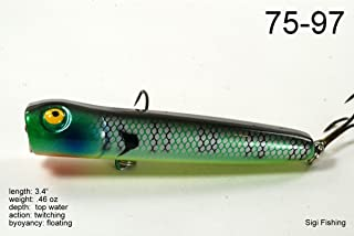 Akuna Splash Attack Series 3.4 inch Topwater Lure