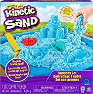 Kinetic Sand is the squeezable sand you mould with your hands Squish it Mould it Love it You'll never want to put it down Use the included moulds and tool to create amazing sand castles and fun beach-themed shapes inside the sand castle tray Kinetic ...