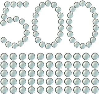KampFit 3/8 Inch Clear Glass Marbles Slingshot Ammo Balls, 500 Qty