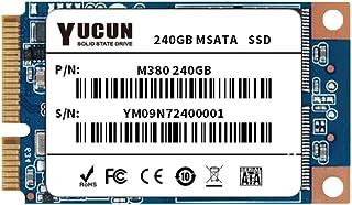 YUCUN MSATA III Disco Duro sólido Interno de Estado sólido 240GB SSD