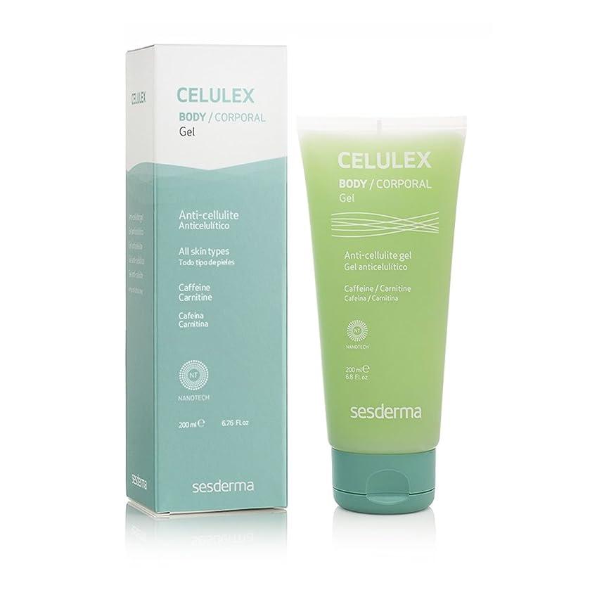 数値悩みキャンセルSesderma Celulex Anti-cellulite Gel 200ml [並行輸入品]