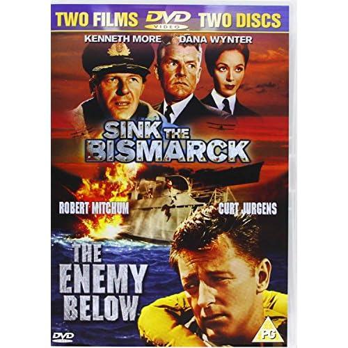 Sink The Bismarck / Enemy Below (2 Dvd) [Edizione: Regno Unito] [Edizione: Regno Unito]
