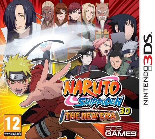 [Import Anglais]Naruto Shippuden 3D The New Era Game 3DS