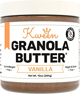 Sponsored Ad - Kween Vanilla Granola Butter | Tree Nut Free, Peanut Free, and Allergen Friendly Snack Spread