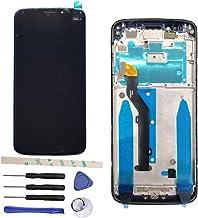 Draxlgon Completa Pantalla LCD + Digitizador de Pantalla Táctil + Marco para Moto G6 Play 5.7
