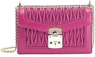 Luxury Fashion | Miu Miu Womens 5BD083N88F0592 Fuchsia Shoulder Bag | Fall Winter 19