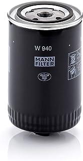 Original MANN FILTER Ölfilter W 940 – Hydraulikfilter geeignet für Automatikgetriebe – Für LKW, Busse und Nutzfahrzeuge