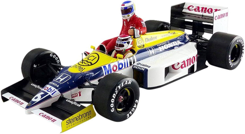 Minichamps 1  18Williams Honda FW11–Keke Rosberg, Reiten auf Nelson Piquet–Deutsch GP 1986–117860106