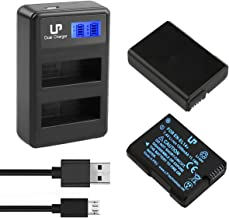 LP EN-EL14 EN EL14a Battery Charger Pack, 2-Pack Battery...