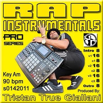 Rap Instrumentals (S0142011 Am 90 BPM)