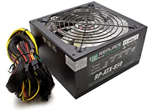 Replace Power RP-ATX-850W-RD 850W ATX Power Supply Red LED SATA 12V PCI-E