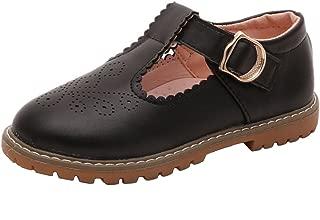 Toddlers Little Big Girls T-Strap Oxfords Shoes School Uniform Dress Mary Jane Flats