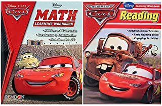 Cars Disney Pixar Learning Workbook Pack [Math and Reading]