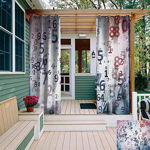 Rideau d'extérieur personnalisé avec petits cercles à pois de fond pour fille abstraite, décoration de chambre thermique, multicolore W108\