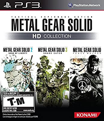 Metal Gear Solid HD Collection from Konami