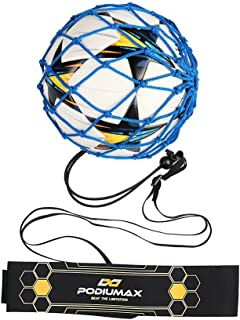 PodiuMax Hands-Free Soccer Kick/Throw Trainer, New Ball...