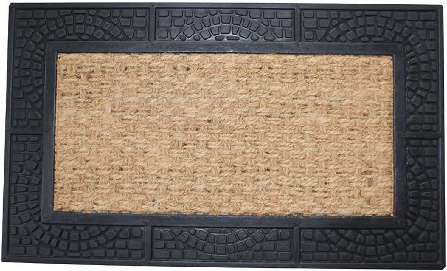 StealStreet SS-KHD-10017941 30  Welcome Mat with Reptile Texture Border