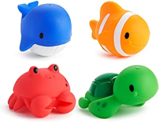 Munchkin Ocean Squirts Bath Toys, Pack of 4