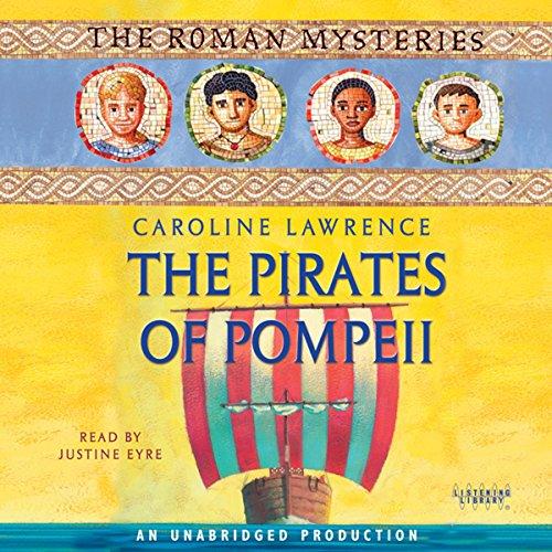 The Pirates of Pompeii audiobook cover art