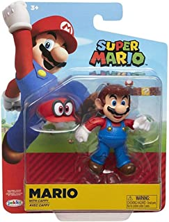 Nintendo Super Mario Odyssey Mario 4? Articulated Figure with Cappy