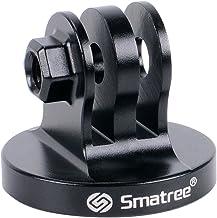Smatree Aluminum Tripod Mount Adapter Compatible for Gopro Hero 8, 7, 6, 5, 4, 3+, 3, 2, 1 HD, GOPRO Hero 2018, DJI OSMO Action Camera